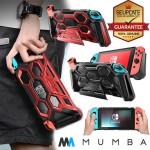 (ของแท้) เคส Nintendo Switch Battle Series MUMBA Heavy Duty Grip Protective Cover
