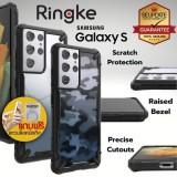 (ของแท้+ของแถม) เคส RINGKE FUSION X สำหรับ Samsung Galaxy S21 Ultra / S21 Plus / S21 / S20 / Plus / Ultra / S10 / Lite