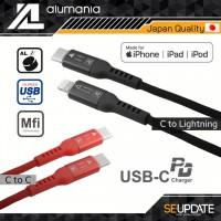 สายชาร์จ alumania POWER CHARGE USB-C CABLE ( C to C / C to Lightning)