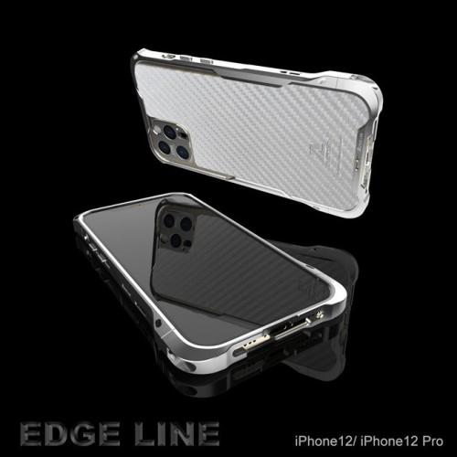 (สินค้าจากญี่ปุ่น) Alumania EDGE LINE-BUMPER for iPhone 12 / 12 Pro / 12 Pro Max