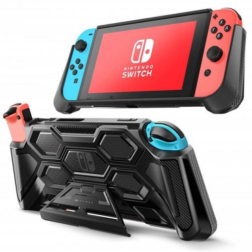 (ของแท้) เคส Nintendo Switch [Battle Series] MUMBA Heavy Duty Grip Protective Cover