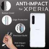 เคส Anti-Impact TPU Soft Case for SONY Xperia 1 III / 10 III / XZ Premium / XA2 / Ultra / L2 / XZ1 / XZ2 / Compact