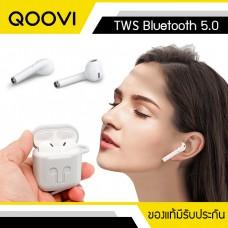 หูฟังไร้สาย QOOVI True Wireless Stereo (TWS) Bluetooth 5.0