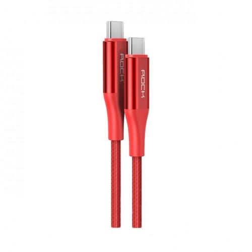 สายชาร์จ/ส่งข้อมูล Rock Space R3 USB-C 3.1 Gen2 Metal Braided Charge & Sync Cable