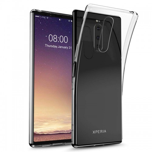 เคส SONY SE-UPDATE Ultra Slim Case สำหรับ Xperia 1 II / 10 II / 1 / 5 / XZ Premium