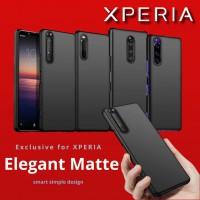 เคส SONY Xperia Elegant Matte สำหรับ Xperia 1 II / 5 II / 10 II / 1 / 5