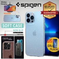 (ของแท้+ของแถม) เคส iPhone SPIGEN Liquid Crystal Glitter สำหรับ 13 / 13 Pro / 13 Pro Max / XR