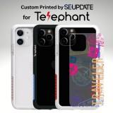 แผ่นพลาสติกกันรอย พิมพ์ลาย TRAVELER สำหรับเคส Telephant NMDer Bumper iPhone 12 / 11 / Pro / Pro Max