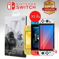 (2 ชิ้น) ฟิล์ม กระจก Unipha สำหรับ Nintendo Switch / Switch OLED / Switch Lite