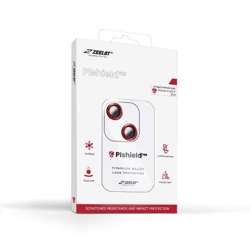 (ชุดติดตั้งที่ร้าน) ZEELOT Plshield Titanium Alloy กระจกกันรอยเลนส์กล้อง พรีเมี่ยม สำหรับ iPhone 13 / 13 Pro / 13 Pro Max / 13 mini
