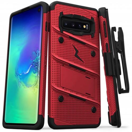 (ของแท้+ของแถม) เคส Samsung Galaxy Zizo Bolt Series สำหรับ S20 Plus / S20 / Note 10 / S10