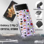 เคส Samsung Galaxy Z Flip 3 [ SUSHI ] Crystal Hybrid Case