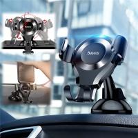 ที่วางโทรศัพท์มือถือในรถ Baseus Osculum Type Gravity Car Mount