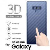ฟิล์มกันรอยด้านหลัง ลายเคฟล่า สำหรับ Samsung Galaxy S10 / S10 Plus / S10e / S9 / S9 Plus / S8 / S8 Plus / Note 8 / 9