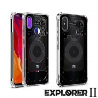 เคส Xiaomi Mi 8 [Explorer II Series] 3D Anti-Shock Protection TPU Case