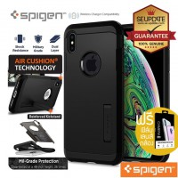 (ของแท้) เคส iPhone XS Max SPIGEN Tough Armor Case : Black
