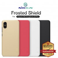 (แถมฟิล์ม) เคส Xiaomi Mi 8 Pro / Mi 8 Explorer Nillkin Super Frosted Shield