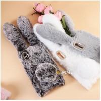 เคสกระต่าย หูยาวขนปุย Xperia XA1 Ultra Rabbit Fur Case