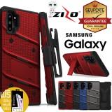 (ของแท้+ของแถม) เคส Samsung Galaxy Zizo Bolt Series สำหรับ Note 10 / Note 10 Plus / Note 9 / S10 / S10 Plus