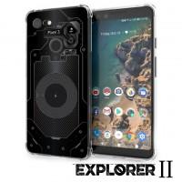 เคส Google Pixel 3 [Explorer II Series] 3D Anti-Shock Protection TPU Case