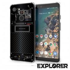 เคส Google Pixel 3 [Explorer Series] 3D Anti-Shock Protection TPU Case