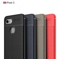 เคส Google Pixel 3 Dermatoglyph Full Cover Leather TPU Case