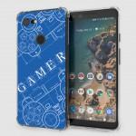 เคส Google Pixel 3 Anti-Shock Protection TPU Case [Gamer illustration Blue]