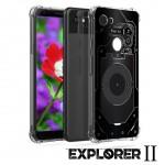 เคส Google Pixel 3a [Explorer II Series] 3D Anti-Shock Protection TPU Case