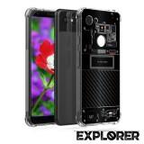 เคส Google Pixel 3a [Explorer Series] 3D Anti-Shock Protection TPU Case