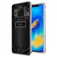 เคส Huawei Mate 20 Pro [Explorer Series] 3D Anti-Shock Protection TPU Case [Translucent]
