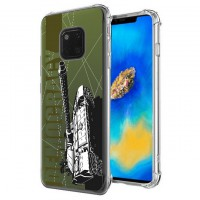 เคส Huawei Mate 20 Pro War Series 3D Anti-Shock Protection TPU Case [WA001]