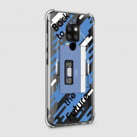 เคส Huawei Mate 20 X Anti-Shock Protection TPU Case [Back to the Future]