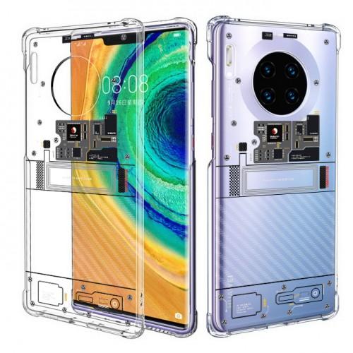 เคส Huawei Mate 30 Pro [Explorer Series] 3D Anti-Shock Protection TPU Case