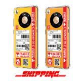 เคส Huawei Mate 40 Pro Shipping Series 3D Anti-Shock Protection TPU Case