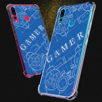 เคส Huawei Nova 4 Anti-Shock Protection TPU Case [Gamer Illustration Blue]