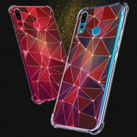 เคส Huawei Nova 4 Polygon Series 3D Anti-Shock Protection TPU Case [PG004]