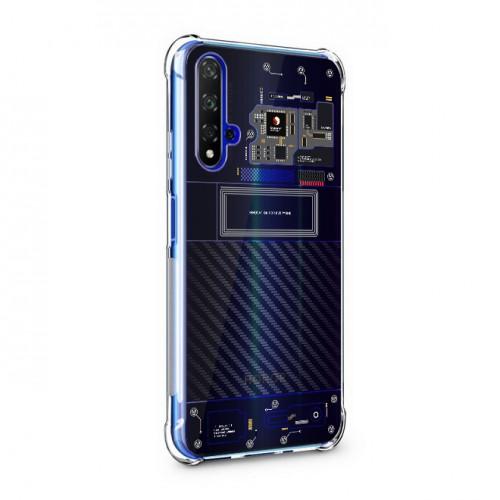 เคส Huawei Nova 5T [Explorer Series] 3D Anti-Shock Protection TPU Case