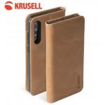 เคสหนังแท้ Huawei P20 Pro / P20 Plus Krusell Sunne 4 Card Folio Wallet สีน้ำตาล