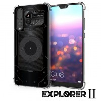 เคส Huawei P20 Pro [Explorer II Series] 3D Anti-Shock Protection TPU Case