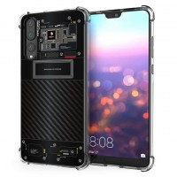 เคส Huawei P20 Pro [Explorer Series] 3D Anti-Shock Protection TPU Case [Translucent]