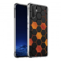 เคส Huawei P30 Pro Polygon Series 3D Anti-Shock Protection TPU Case [PG002]