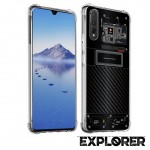 เคส Huawei P30 [Explorer Series] 3D Anti-Shock Protection TPU Case