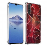 เคส Huawei P30 Polygon Series 3D Anti-Shock Protection TPU Case [PG004]