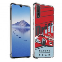 เคส Huawei P30 Anti-Shock Protection TPU Case [Racing Team]