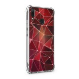 เคส Huawei Y9 Polygon Series 3D Anti-Shock Protection TPU Case [PG004]