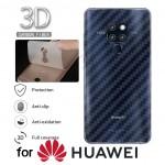 ฟิล์มกันรอยด้านหลัง ลายเคฟล่า สำหรับ Huawei P30 / P30 Pro / P20 Pro / P20 / Mate 30 Pro / Mate 20 / Pro / X / Honor Play