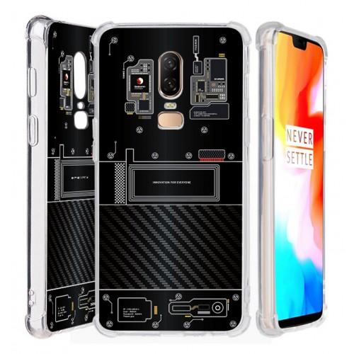 เคส Oneplus 6 [Explorer Series] 3D Anti-Shock Protection TPU Case