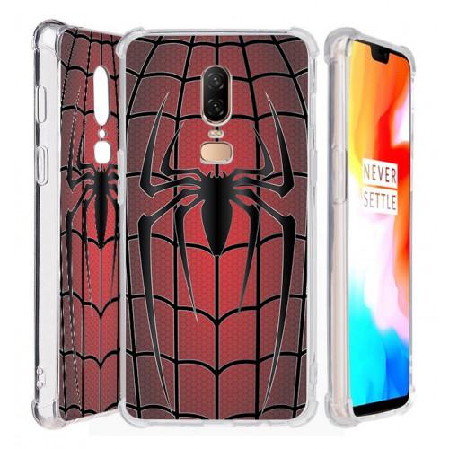 เคส Oneplus 6 Spider Series 3D Anti-Shock Protection TPU Case