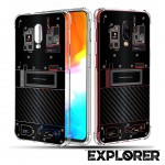 เคส Oneplus 6T [Explorer Series] 3D Anti-Shock Protection TPU Case