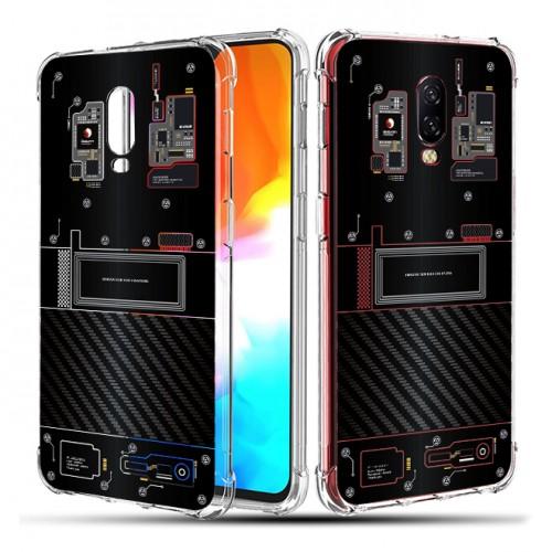 เคส Oneplus 6T [Explorer Series] 3D Anti-Shock Protection TPU Case